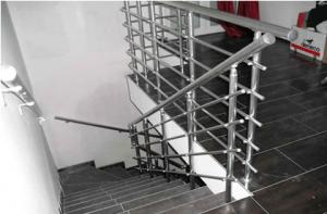 Алуминиев парапет в стълбище